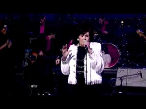 WANDA JACKSON & JACK WHITE LIVE! ON DAVID LETTERMAN