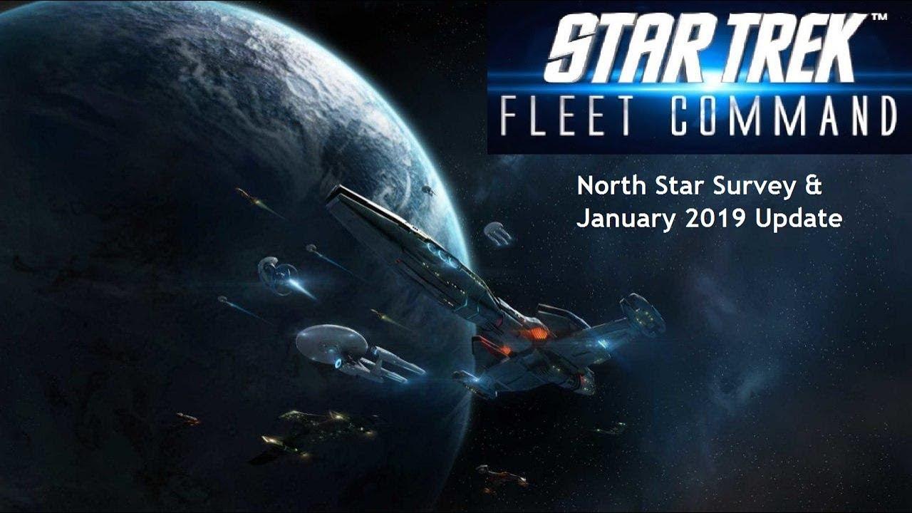 Star Trek Fleet Command 1 - North Star Survey & January 2019 Update