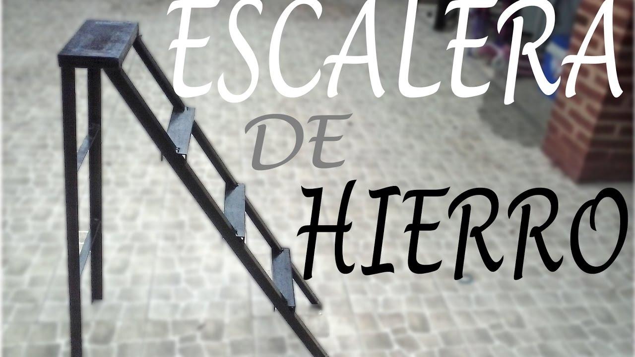 Como hacer una escalera de hierro paso a paso youtube for Como hacer escaleras de fierro