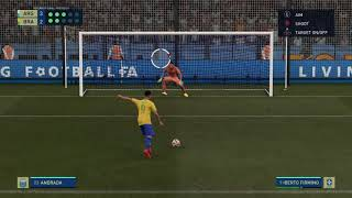 Brazil vs Argentina Penalty Shootout FIFA 21