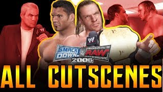 WWE SVR 2006 | RAW Season Mode All Cutscenes Full Movie Playstation 2 1080p