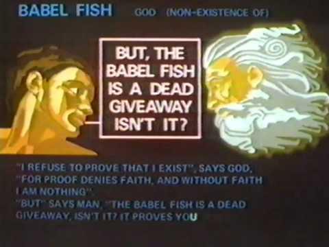Hitchhiker's Guide (Original) Babel Fish