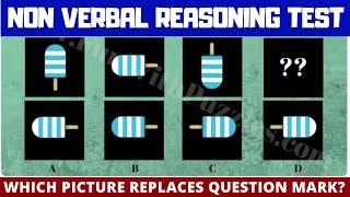 Non Verbal #Reasoning #Puzzles  | Visual #IQ Brain Test