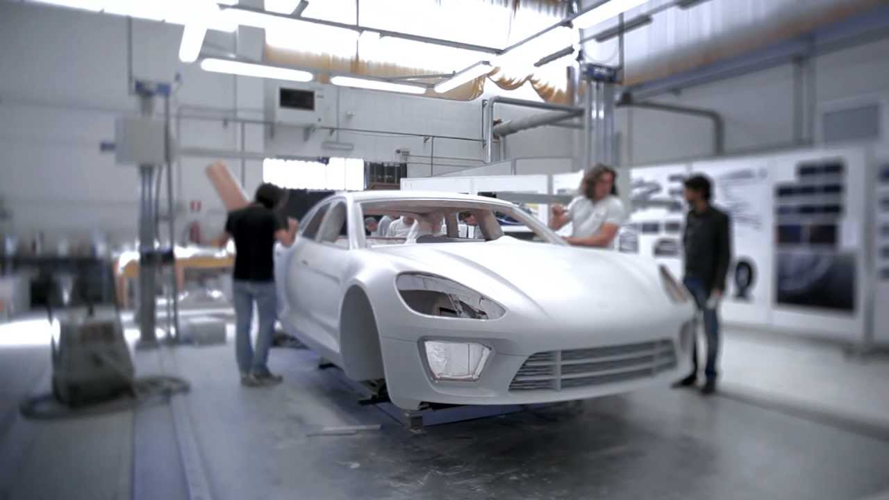 Build A Car >> How To Build A Concept Car Porsche Sport Turismo Youtube