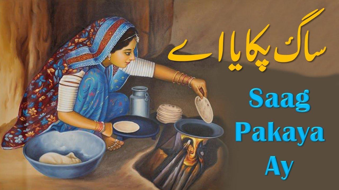 Download Poetry Saag Pakaya ay By Saeed Aslam | Punjabi Shayari by whatsapp status 2020