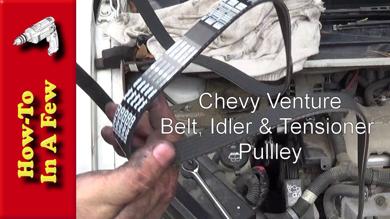 2001 Pontiac Aztek Serpentine Belt Routing And Timing Belt Diagrams