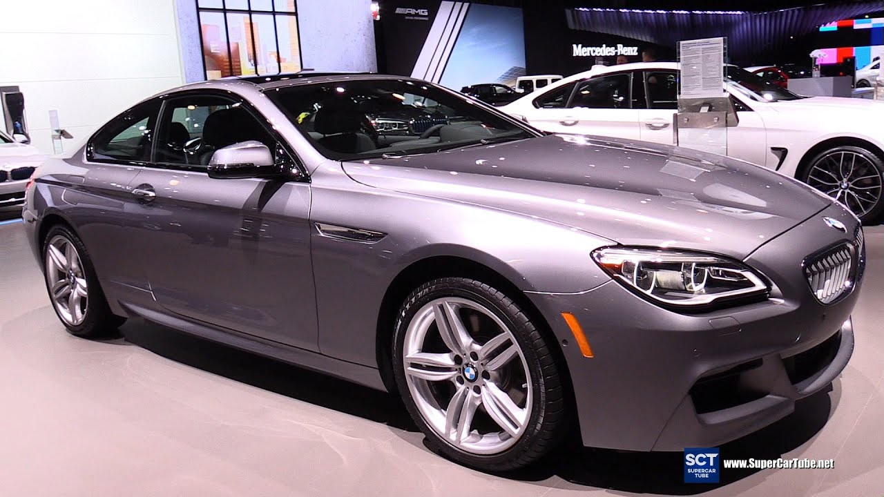 2016 Bmw 6 Series 650i Xdrive Coupe Exterior And Interior Walkaround New York Auto Show