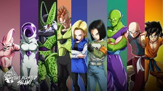 Dragon Ball FighterZ Character Overviews - Villains and Z-Fighters