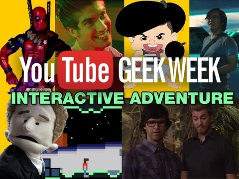 A Geek Week Interactive Adventure (First Video)