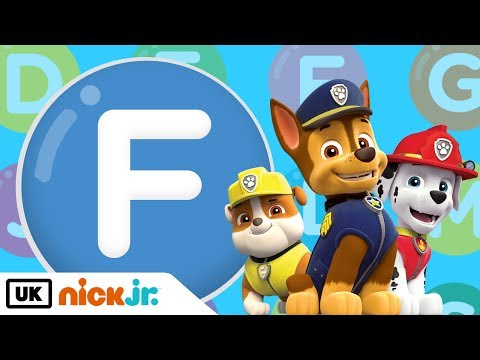 It's the Letter F! – Featuring PAW Patrol | Nick Jr. UK