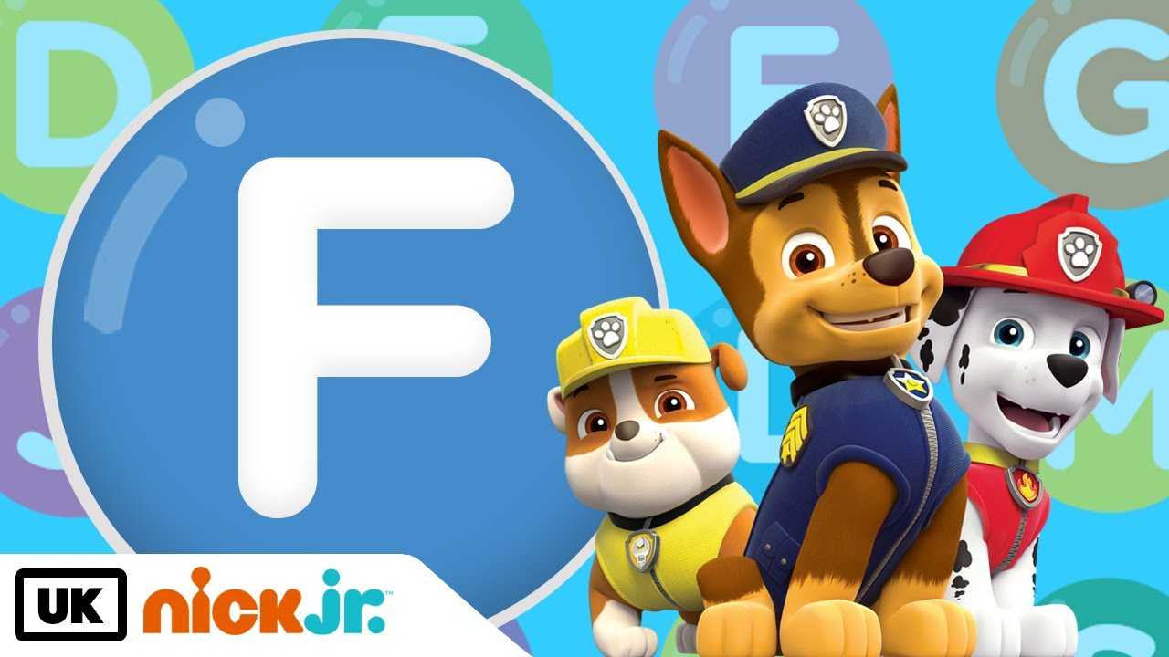 Words beginning with F! – Featuring PAW Patrol | Nick Jr. UK - YouTube