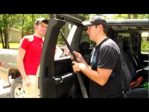 How to Replace Extended Cab Rear Window