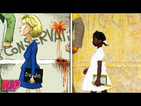 Betsy DeVos Compared To Civil Rights Icon