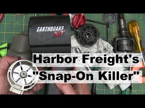 BOLTR: Harbor Freight Earthquake XT Impact Wrench