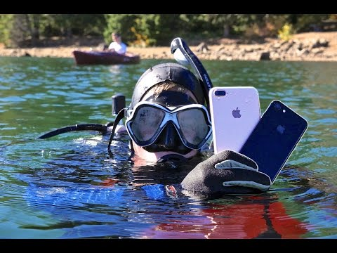 Thumbnail: Scuba Diving With iPhone 7! How Deep Without a Case?