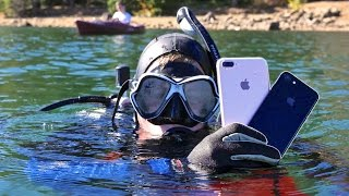 Scuba Diving With iPhone 7! How Deep Without a Case?