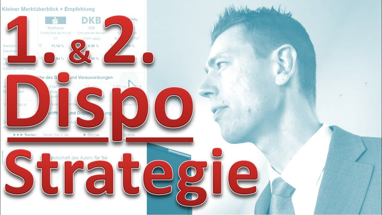 Dispo-Strategie ► Erst- und Zweit-Dispo clever einrichten ✅