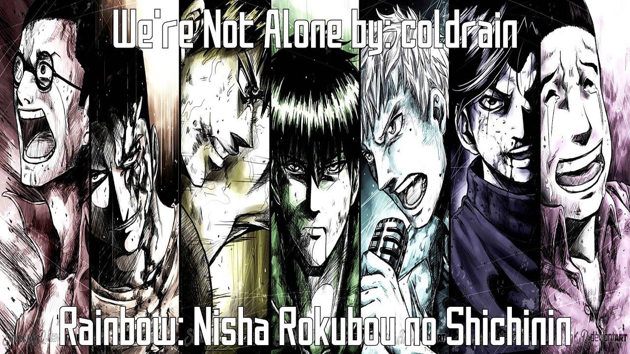 Nightcore  E   Were Not Alone Rainbow Nisha Rokubou No Shichinin  E