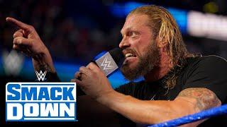 Edge challenges Seth Rollins to SummerSlam showdown: SmackDown, Aug. 6, 2021