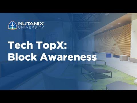 Tech TopX: Block Awareness