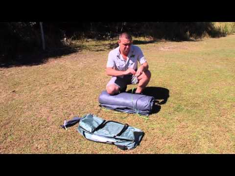 How to Fold a Dome Tent Back into it's Bag