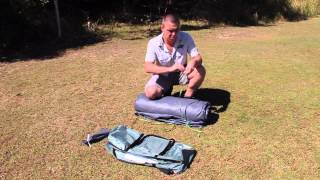 How to Fold a Dome Tent Back into it