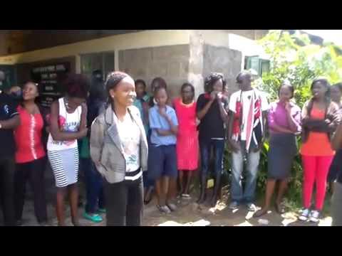 KCEF Dignity for girls project Kirinyaga County