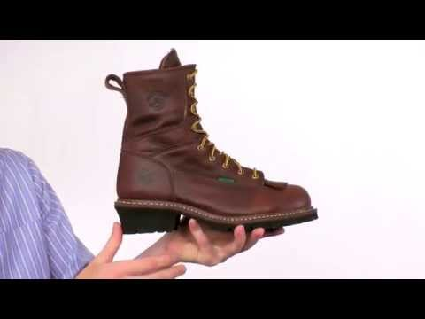 Georgia Steel Toe Waterproof Logger Boot Style# - G7313