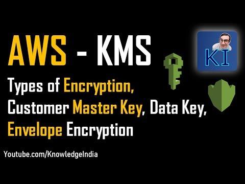 AWS #KMS - Key Management Service - Customer Master Key, Data Key, Envelope Encryption (Part 1)