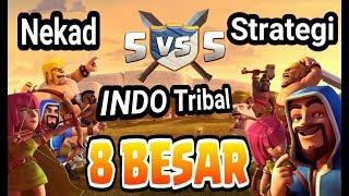 NEKAD TH 10 VS TH 11, REKAP TURNAMEN INDO TRIBAL COC INDONESIA