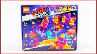 COMPILATION LEGO MOVIE 2 70825 Queen Watevra's Box Construction Toy - UNBOXING