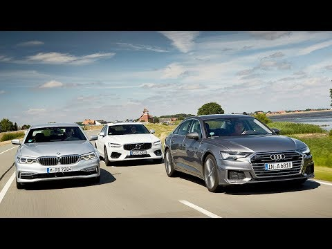 2019 Audi A6 Vs 2018 Bmw 5 Series Vs 2018 Volvo S90