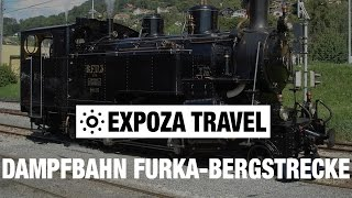Dampfbahn Furka-Bergstrecke (Switzerland) Vacation Travel Video Guide(Travel video about destination Dampfbahn in Switzerland. The Steam Railway