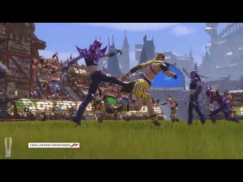 Blood Bowl 2 - (PC) Champions Cup XIII 2nd Rnd Mankiz (Wood Elf) Vs Nightwind (Dark Elf)