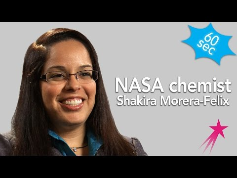 60 Seconds with Chemist:  Shakira Morera-Felix