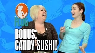 Flog Cooking with Robin Bonus Video: Candy Sushi!