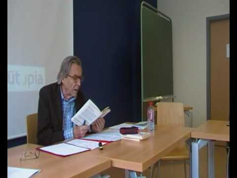 Jean Pierre Faye 5/7 Colloque Philosophie Praxis U...
