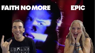 FAITH NO MORE - EPIC! | Reaction! | SCHOOL of 90s ROCK! (EPIC!!!)