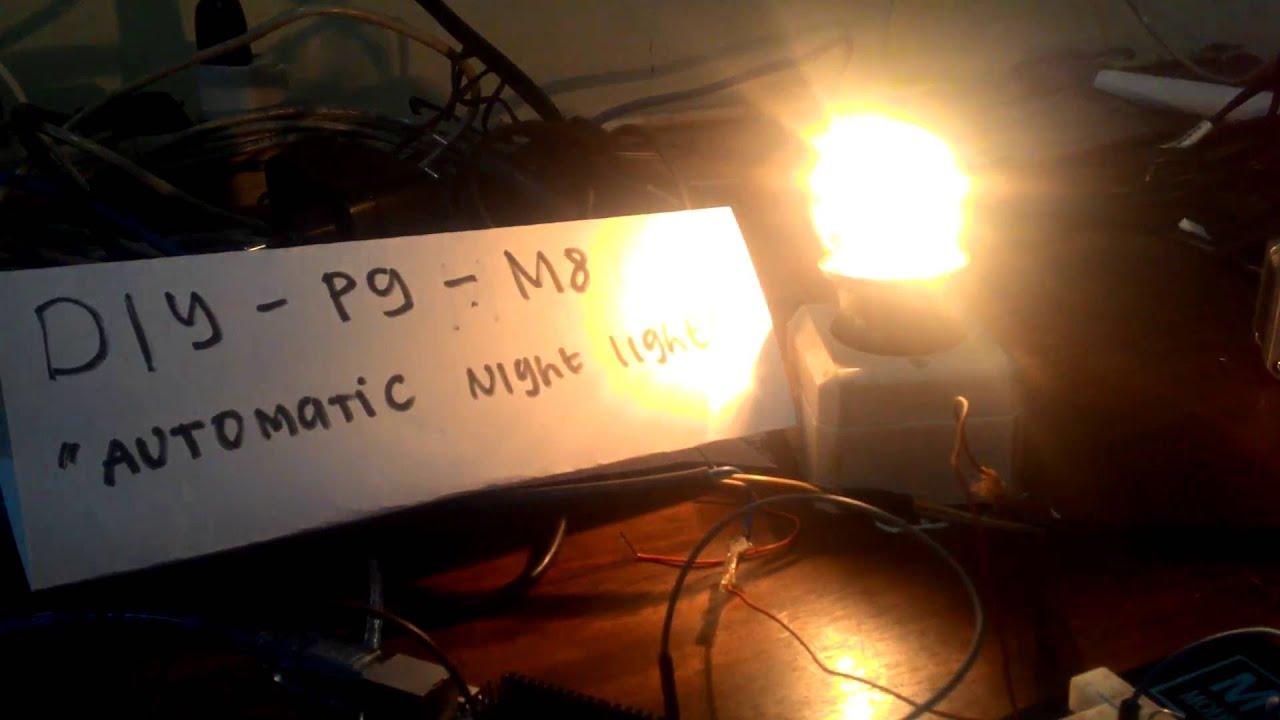 Night light using arduino - Automatic Night Light With Arduino