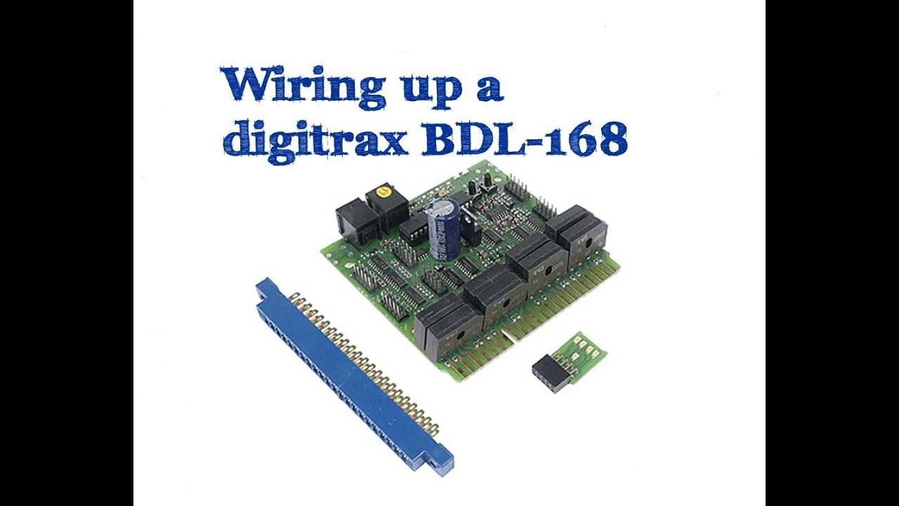 medium resolution of wiring up digitrax bdl 168 youtube rh youtube com digitrax pm42 wiring digitrax dcc