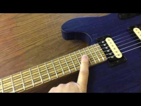 custom all plywood guitar