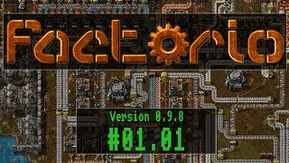 Factorio - #01.01 - Alles Handarbeit [ Let´s Play / Gameplay / Deutsch / German ]