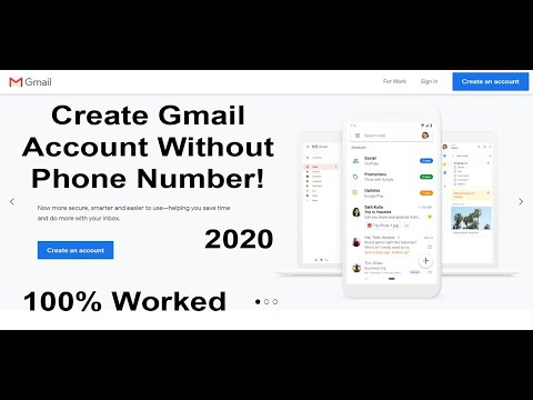 How To Create A Gmail Account Without Phone Number | Make A Google Account For Business | Sign Up