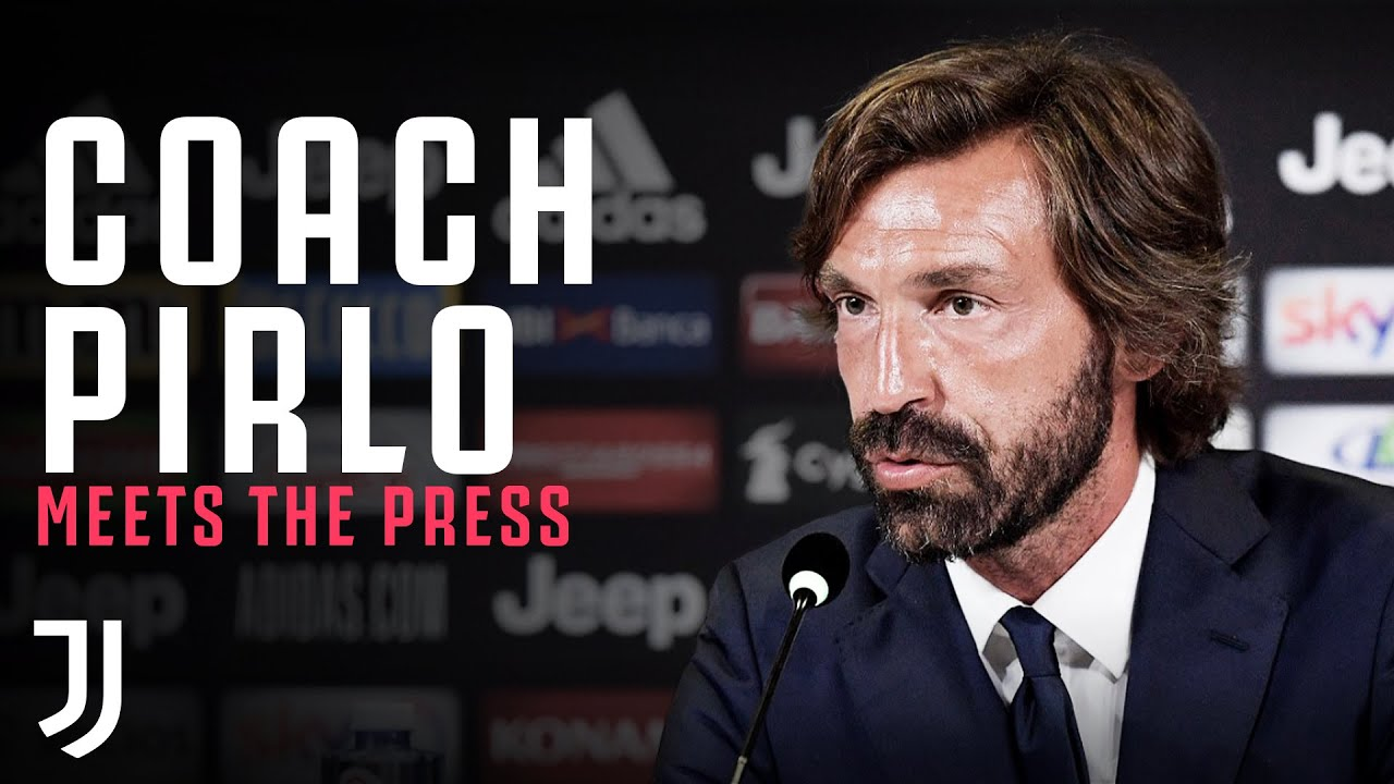 COACH PIRLO | Andrea Pirlo meets the press as new Juventus U23 ...