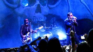 Avenged Sevenfold- Nightmare 2011 Uproar Chicago, IL 8th row VIP