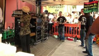 "Notting Hill Carnival 2013 - Aba Shanti-I ▶ Keety Roots ""International Soldier [Black Legacy] ⑱"