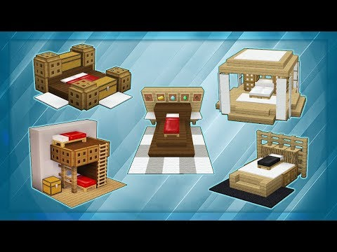 20 Minecraft Bed Designs!