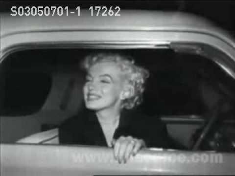 Marilyn Monroe arrives in California