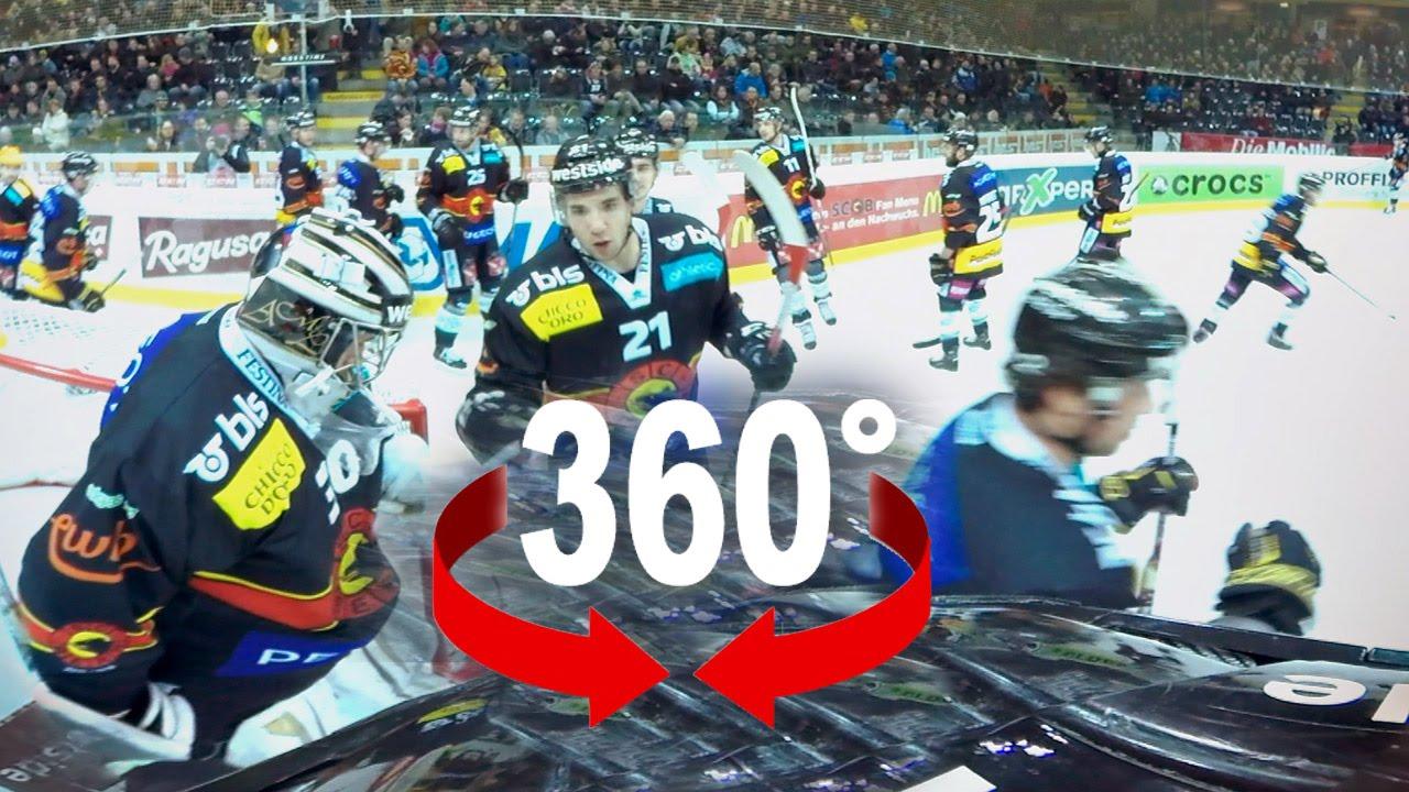360 Ice Hockey Sc Bern Swiss National League A Youtube