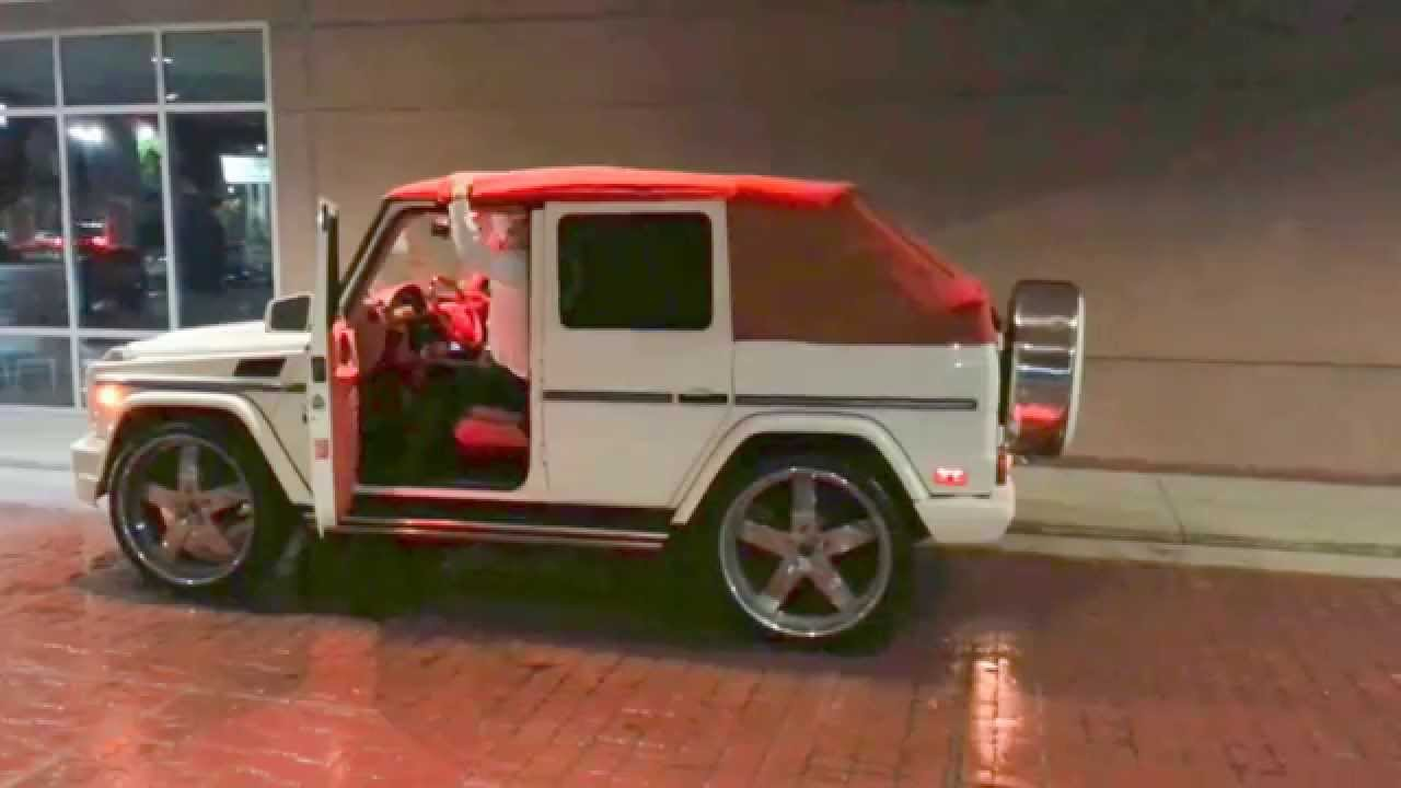 Convertible mercedes benz g wagen the lavish store youtube for Drop top mercedes benz prices